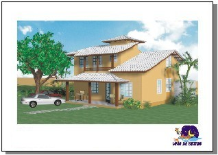 3D House Rendering - Eye level view