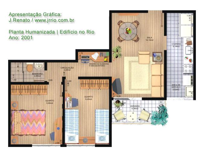 Apartment Building Exterior And Interiors 3d Visualization