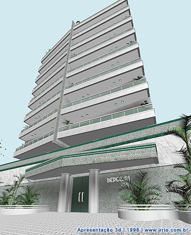 Condominium | digital 3d architectural modeling  and architectural renderig