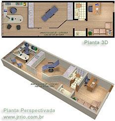 3d floor plan | doctor´s office