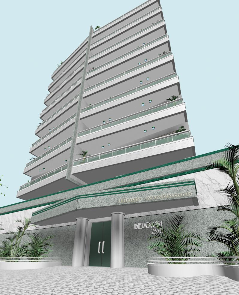 Digital 3D Architectural Modeling & Rendering - Condominium Architectural Perspective